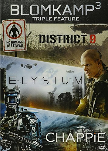 CHAPPIE / DISTRICT 9 / ELYSIUM - CHAPPIE / DISTRICT 9 / ELYSIUM (3 DVD)