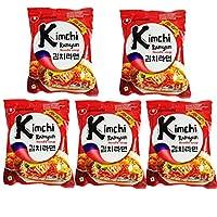 Nongshim Kimchi Ramyun Noodle, 120gm (Pack of 5)