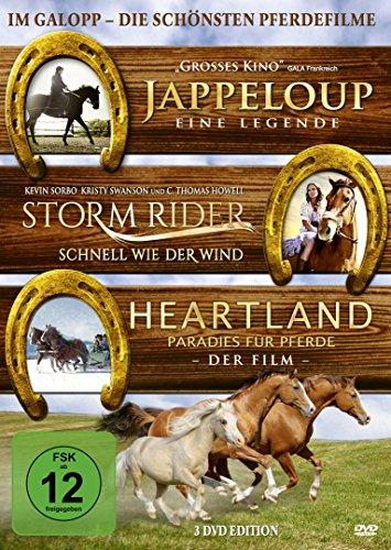 Im Galopp - Die schönsten Pferdefilme [3 DVDs]