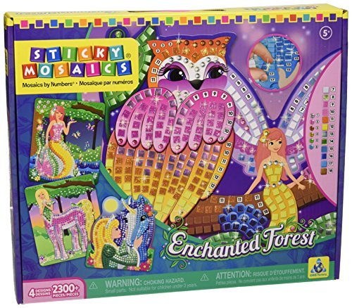 Orb Factory OSM67205 Enchanted Forest Sticky Mosaics