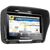 Excelvan W4 - Motorad Navigationsgerät mit 4,3 Zoll Display (BT, Wasserdicht IPX7, 8GB, GPS, SATNAV, NAVI für Motorad…