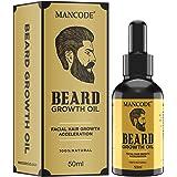 MAN CODE Advanced Beard Growth Oil With Almond Oil, Jojoba Oil, Coconut Oil & Cinnamon Oil For Beard And Moustache Growth, 50