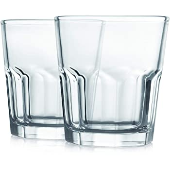 Cello Bello Glass Tumbler Set, 330 ml, Set of 2, Transparent