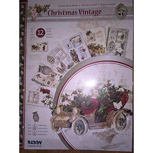 3-D Bastelmappe Christmas Vintage - Weihnachten