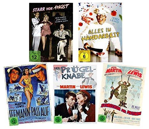Jerry Lewis Fan Collection (5 Filme) [5 DVDs]