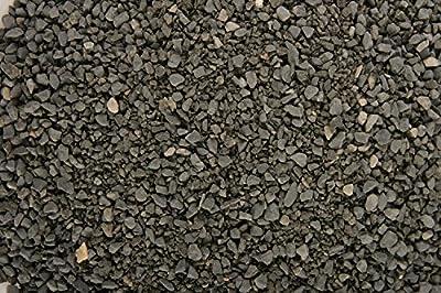 Zolux Kies Natur für Aquarium Basalt Schwarz von 1bis 4mm granulométie–5kg