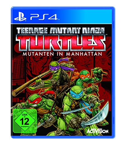 (Teenage Mutant Ninja Turtles: Mutanten in Manhattan - [PlayStation 4])