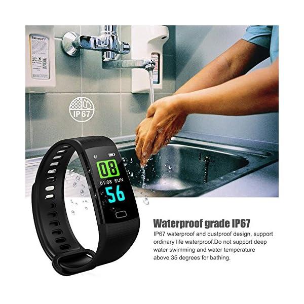 YILON Pulsera Actividad Fitness Tracker Pulsera Inteligente Reloj Fitness Podómetro Monitor de Ritmo cardíaco IP67… 6