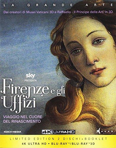 Firenze e gli Uffizi(Collectors Edition) (2 Blu-Ray: 2D/3D + 4K)