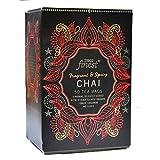 Tesco Finest Chai 50 Teebeutel 125G, schwarzer Tee mit Ingwer, Zimt, Kardamom und Nelken.