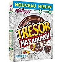 Kellogg's trésor max krunch 375g - Prix Unitaire - Livraison Gratuit En France métropolitaine sous 3 Jours Ouverts