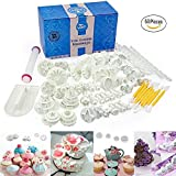 Uten Ausstechformen Set 68 PCS Ausstecher Dekoration Set Backen DIY