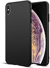 """BENNALD iPhone XS Max Hülle Stoßfest, Anti-Fingerabdruck, Anti-Scratch Schutzhülle Matt Case Cover-Bumper PC Hardcase Schutz Tasche Schale Handyhülle für iPhone XS Max 6.5"""" (Schwarz)"""
