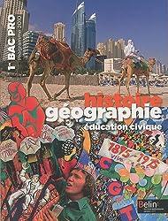 Histoire géographie éducation civique 1e Bac Pro : Programme 2010