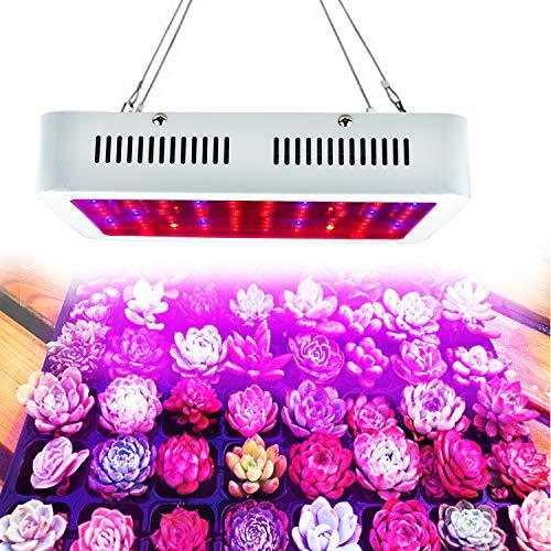 WYZM LED Pflanzenlampe,LED Grow Lampe,1000W HPS Äquivalent,Volls pektrum-Indoor-Wachstumslampe, spezielles Design für Indoor-Wachstumsanlagen,100-240V-Eingang (100X10W) - Hps-lampe