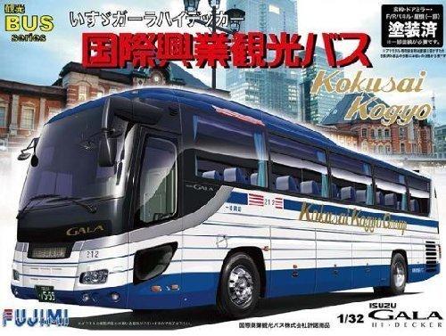 1/32 tourist bus Isuzu Gala Heidegger International Kogyo bus specification (japan import)
