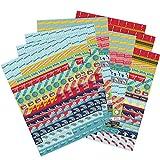 Boxclever Press Lot Géant de Stickers Planner & Agenda. 1,152 Autocollants Pense-Bêtes. Stickers Journal. Autocollants organiseur vifs pour marquer les événements scolaires et planifier pour l'école