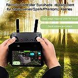 Walmeck- Compatibile con Mavic Mini Mavic Air Mavic PRO Spark Cappuccio Parasole con Telecomando per Drone per Telefono Cellulare iOS Android 4.7-5.5IN