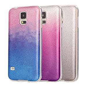 Generic EH : For Samsung Galaxy S5 Case Silicon Glitter Ultra Thin Phone Cover For Samsung S5 SV I9600 Beautiful Lady Soft TPU Back Bling