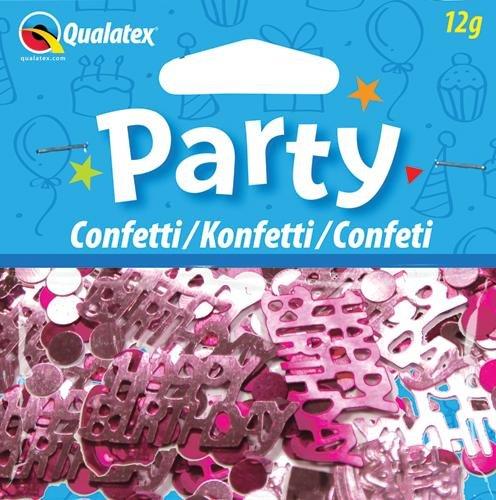Confettis de Table Happy Birthday Rose 6 sachets 0071444268417