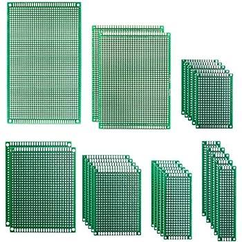 sourcing map 5 St/ück 20x30cm Einseitig Universal Leiterplatte Lochrasterplatte f/ür DIY L/öten DE de