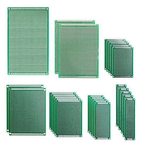 IZOKEE 25 Piezas 7 Tamaños 2x8 3x7 4x6 5x7 7x9 8x12