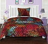 Twin Cotton Indisch Mandala Bettbezug Bettwäsche Set Tie Dye Ethnische Blumen Multi Farbe Duvet Cover Von Stylo Kultur