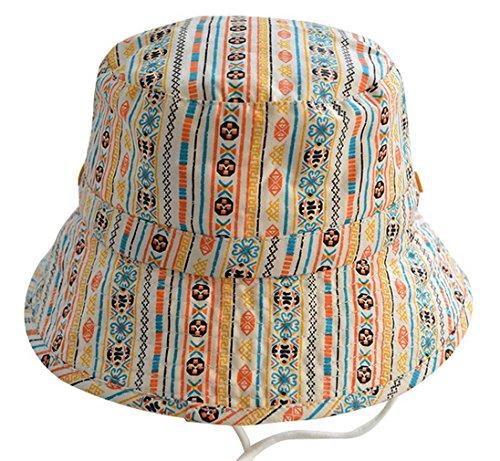 e7c76f31cb2e COMVIP Chapeau de Soleil Imprimé Bob Plage Pêche Coton Outdoor Sport Camping  Loisir Eté Tour de
