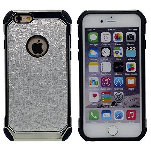iPhone 6S Plus Coque de Protection Mode Dur Case Anti choc Original 'Joli Brillant Texture Arrière Conception