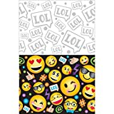 LOL Emoji Plastic Tablecover Birthday Party Supplies by Amscan