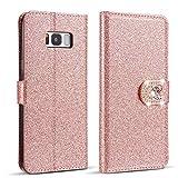 ZCDAYE Huawei P10 Lite Case,Luxury Bling Glitter [Magnetic
