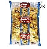 3x Amica Chips Classica Chips Patatine Kartoffelchips gesalzen 300g Kartoffel
