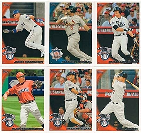 2010 Topps Traded Baseball Updates and Highlights Series Complete Mint