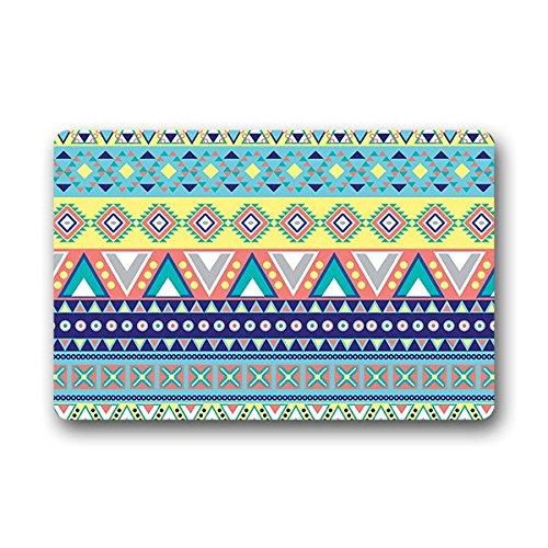 "Dalliy azteca tribale Zerbino Personalizzato Doormat 23.6""x15.7"" about 59.9cmx39.8cm"