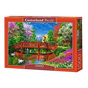 Castorland Fuji Lake 1500 pcs Puzzle - Rompecabezas (Puzzle Rompecabezas, Paisaje, Niños y Adultos, Niño/niña, 9 año(s), Interior)