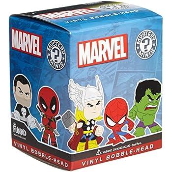 "Funko Marvel Mystery Minis Vinyl Bobble-Head One 2.5"" Random Figure"