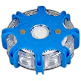 Powerflare Plus blauw LED signaallicht incl. oplader