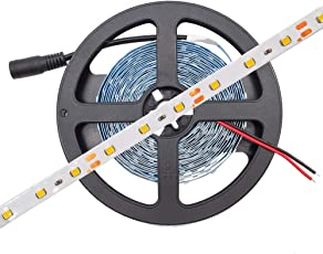 Water Proof Smd Strip Led Light With Led Driver And Power Cord, Red
