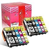 Cseein 10x Compatible 33XL Encre Cartouche Grande Capacité Remplacement pour Epson XP-530 XP-540 XP-630 XP-635 XP-640 XP-645 XP-830 XP-900 Imprimantes