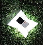 ZYW Outdoor Solar Laterne tragbar Sun-Powered Licht zusammenklappbar vielseitig Lampe für Camping Trekking Reise Rettungs Notlicht
