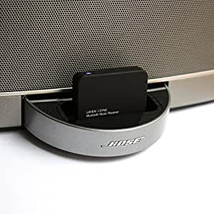 Bluetooth Audio Adaptor- LAYEN i-SYNC Bluetooth Music Receiver. Stream Music From Bluetooth Transmitting Device (iPod, iPhone, Smartphone etc) to your Dock/Stereo - As featured in the Financial Times!