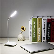 PETRICE Touchswitch Desk Lamp Eye Protection Desk College Student Dormitory Lamp Creative Storage Convenience Lamp