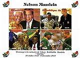 Nelson Mandela Sondermarken für Sammler - Feiern des Lebens und des Todes von Südafrikas erster schwarzer Präsident. Mit Mohammed Ali - Post - Superb Zustand - 2013 / Tschad / 1000F