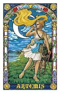 Puzzle 1000 pièces - Puzzle en Plastique - Aya - Mythologie grecque: Artémis