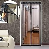 DULPLAY Anti-Fehler Magnet fliegengitter Tür,Sommer Rahmen von Velcro Weich Home Küche Schlafzimmer Partition Fliegenvorhang moskitonetz magnetvorhang -A 95x200cm(37x79inch)