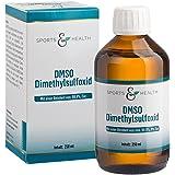 DMSO flüssig - 250 ml - Vorratspackung- Dimethylsulfoxid - Unverdünnt- 99,9% pharmazeutische Reinheit - Made in Germany - Apothekenflasche - Braunglas