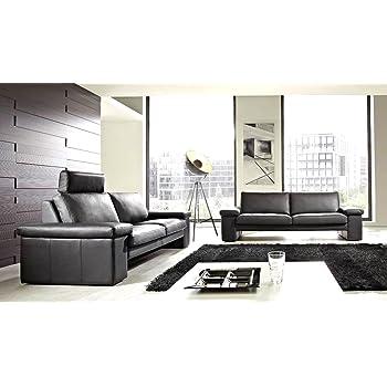 Leder Sofa Garnitur Couch 3 Sitzer 2 Sitzer Milano V4