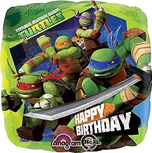Amscan - Globos Tortugas Ninja (2708801)