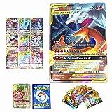 Dorara 100 Pièces Cartes Pokemon GX TAG Team Holo Plein Art TCG Style Flash Cards pour Collections Et Enfants Jouets 2019 Nouveau