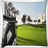 Golf stick Home Decor Werfen Sofa Auto Kissenbezug Kissen Fall 45,7x 45,7cm